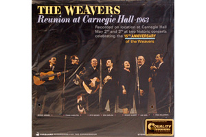 Ingrandisci immagine Reunion at Carnegie Hall 1963, THE WEAVERS