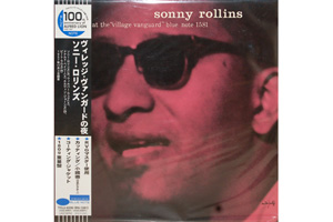Ingrandisci immagine a night at the village vanguard, Sonny Rollins