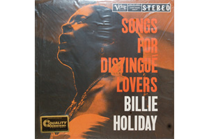 Ingrandisci immagine Songs for distingue lovers, Billie Holiday