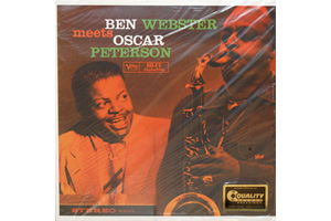 Ingrandisci immagine Ben Webster meets Oscar Peterson, Ben Webster Oscar Peterson