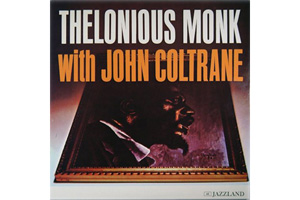 Ingrandisci immagine with John Coltrane, Thelonius Monk John Coltrane