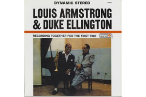 Ingrandisci immagine Recording Together for the first time, Louis Armstrong Duke Ellington
