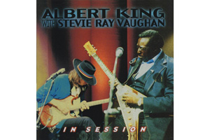 Ingrandisci immagine IN SESSION  with  Stevie Ray Vaughan, Albert King