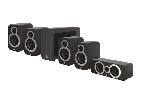 Q Acoustics 3010i Cinema Pack