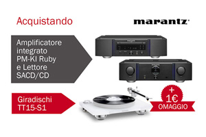 Visualizza il bundle -   Marantz Ruby e TT15
