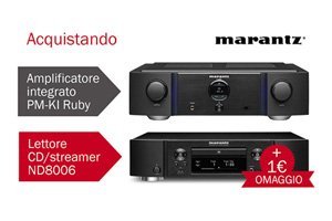 Visualizza il bundle -   Marantz PM-KI Ruby e ND8006