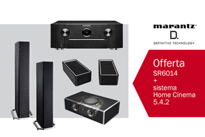 Visualizza il bundle -   Home Cinema Marantz e Definitive Technology